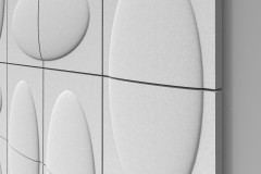monolithic light-weight material for facades