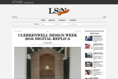 Clerkenwell Design Week 2016 - Digital Replica