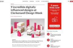 9 incredible digitally influenced designs at Clerkenwell Design Week