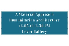 A Material Approach: Humanitarian Architecture, Designing for Global Extremes by Article 25